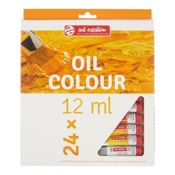 Art Creation Oil Colour Set 24x12ml 9020124M