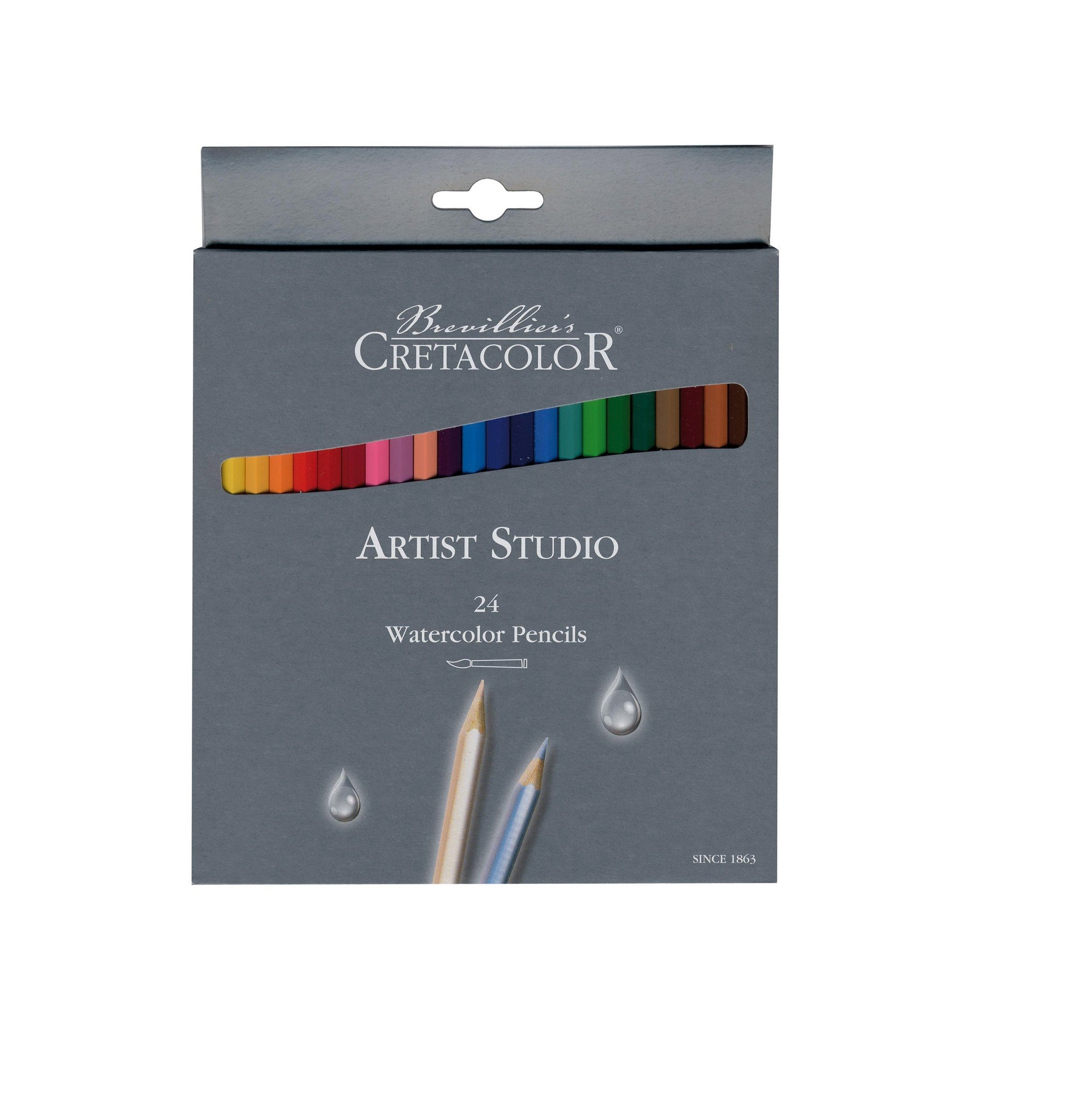 Cretacolor Artist Studio Watercolor Pencils - 24 Pencils