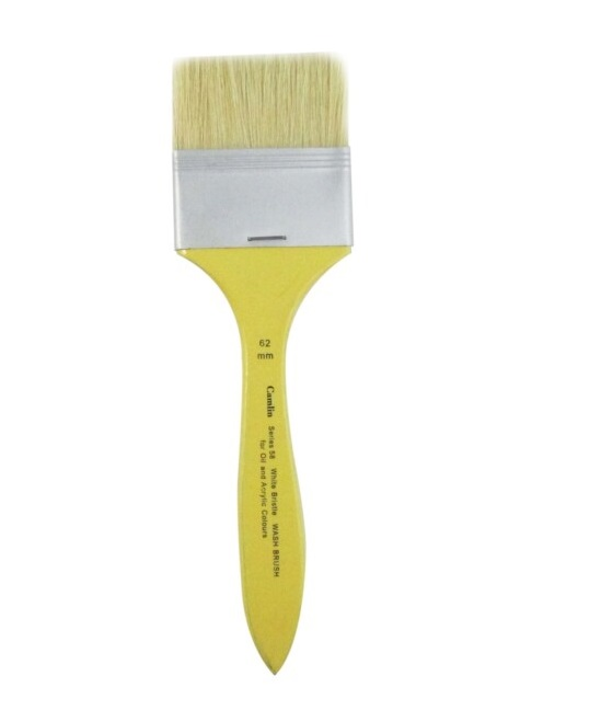 Camlin White Bristle Wash Brush Series 58 ??? 62 mm