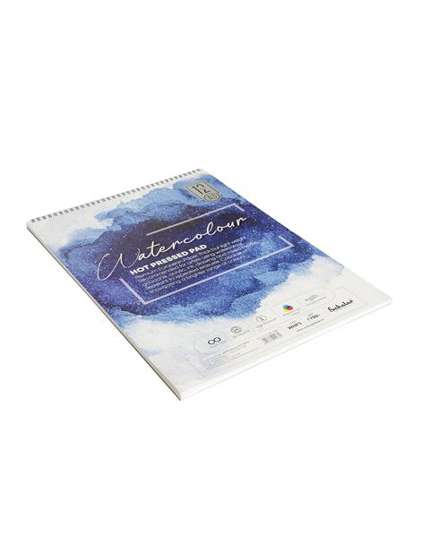 Scholar A3 WATERCOLOUR HOT PRESSED PAD - 300 GSM (WHP3)
