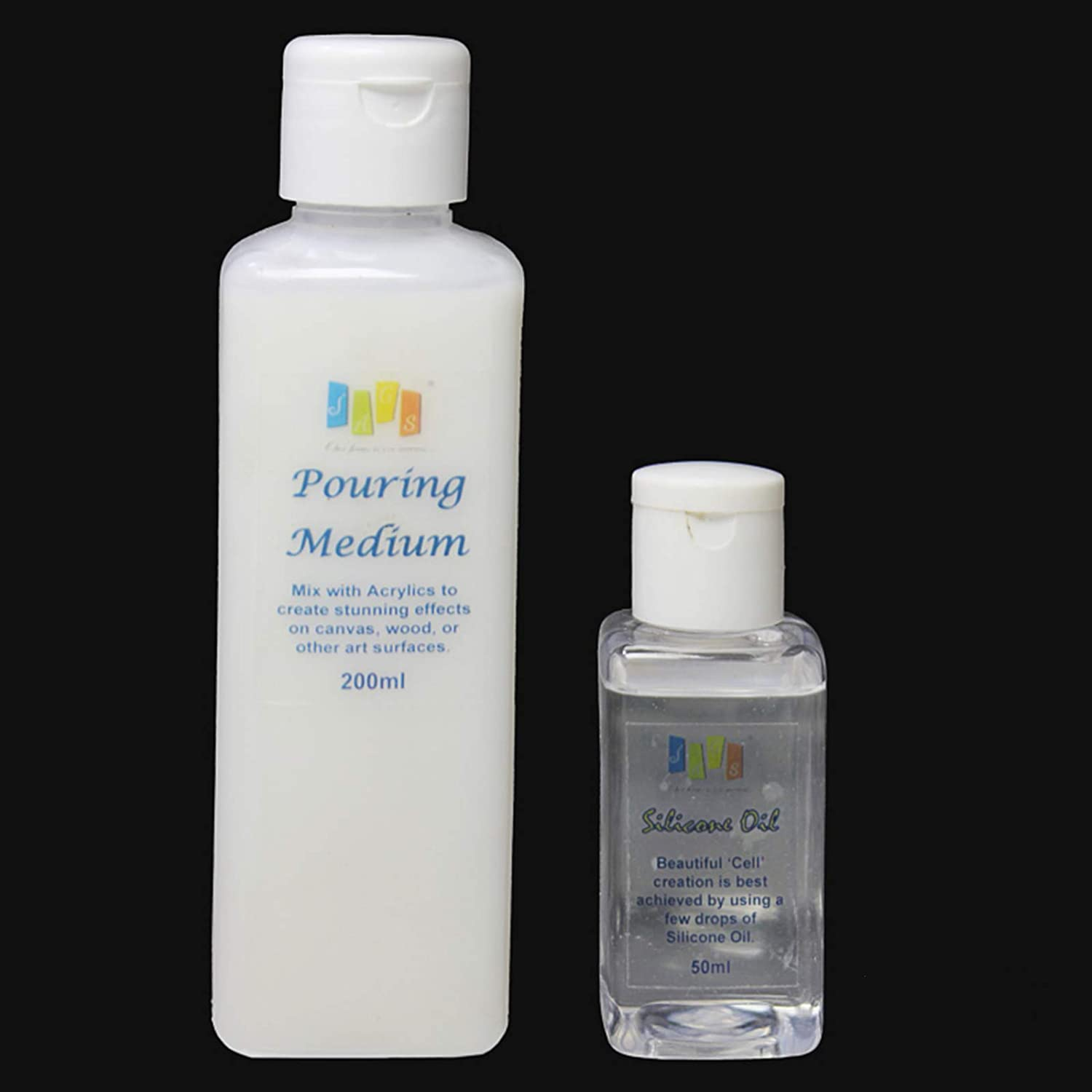 JAGS Pouring Medium-Silicone Oil 2 Bottle Combo 250ml