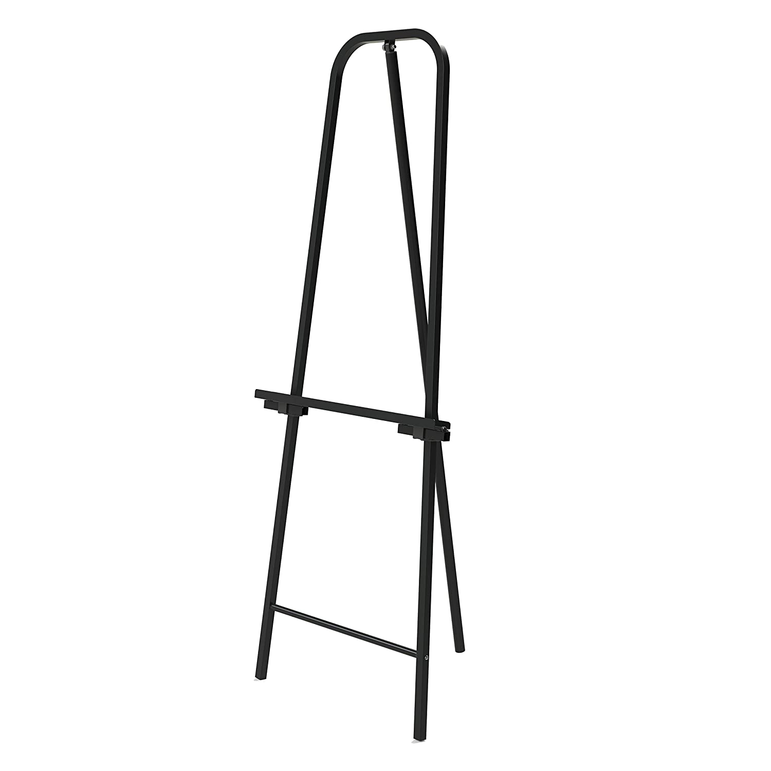Crown Easel Heavy-Duty Metal Easel Stand for Art, Painting & Display Black (Pack of 1)