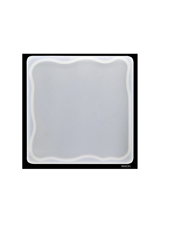 Silicone Mould Agate Coaste Square SMAC01