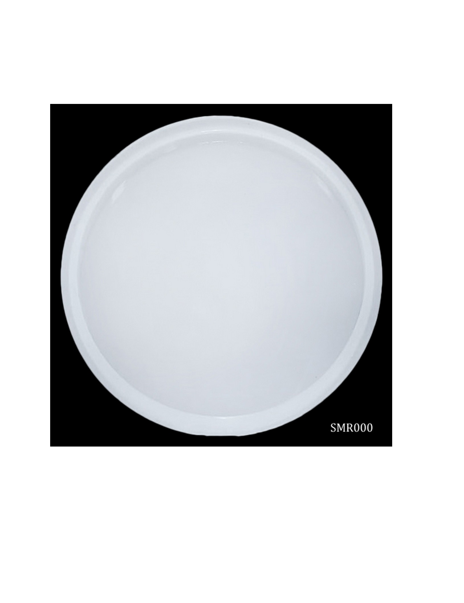 Silicone Mould Round 3.5X3.5Inc SMR000
