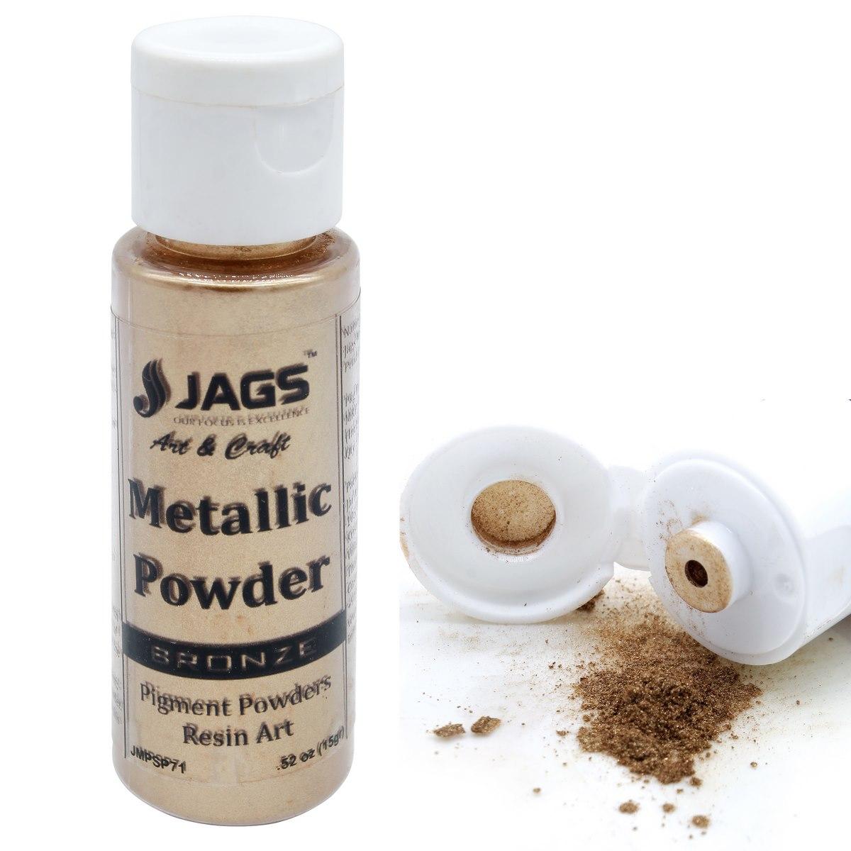 Jags Metallic Powder Bronze 15Gms JMPSP71