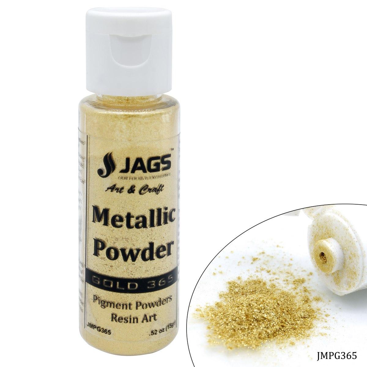 Jags Metallic Powder Gold 365 15Gms JMPG365