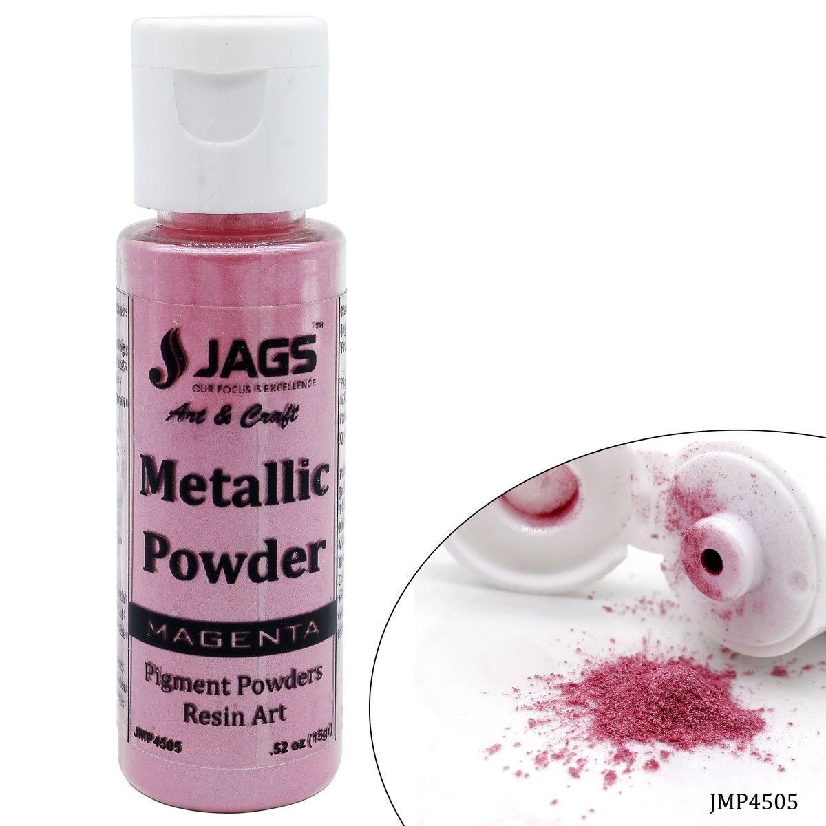 Jags Metallic Powder Magenta 15Gms JMP4505