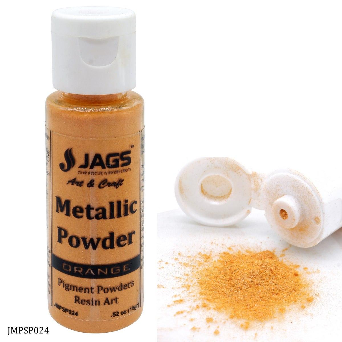 Jags Metallic Powder Orange 15Gms JMPSP024