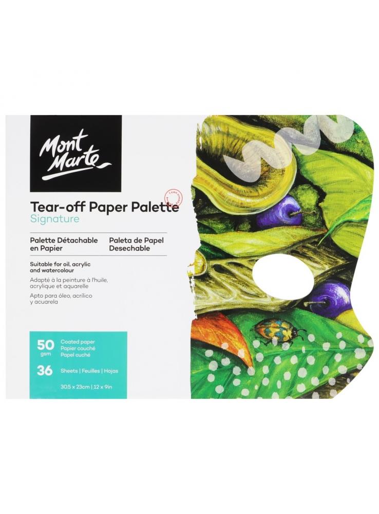 Monte Morte Signature Tear-off Paper Palette 50gsm 36 Sheet