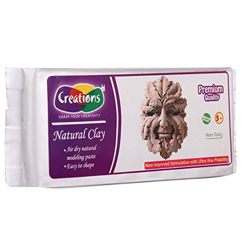 Creations Natural Clay - 500 gm - Terracotta