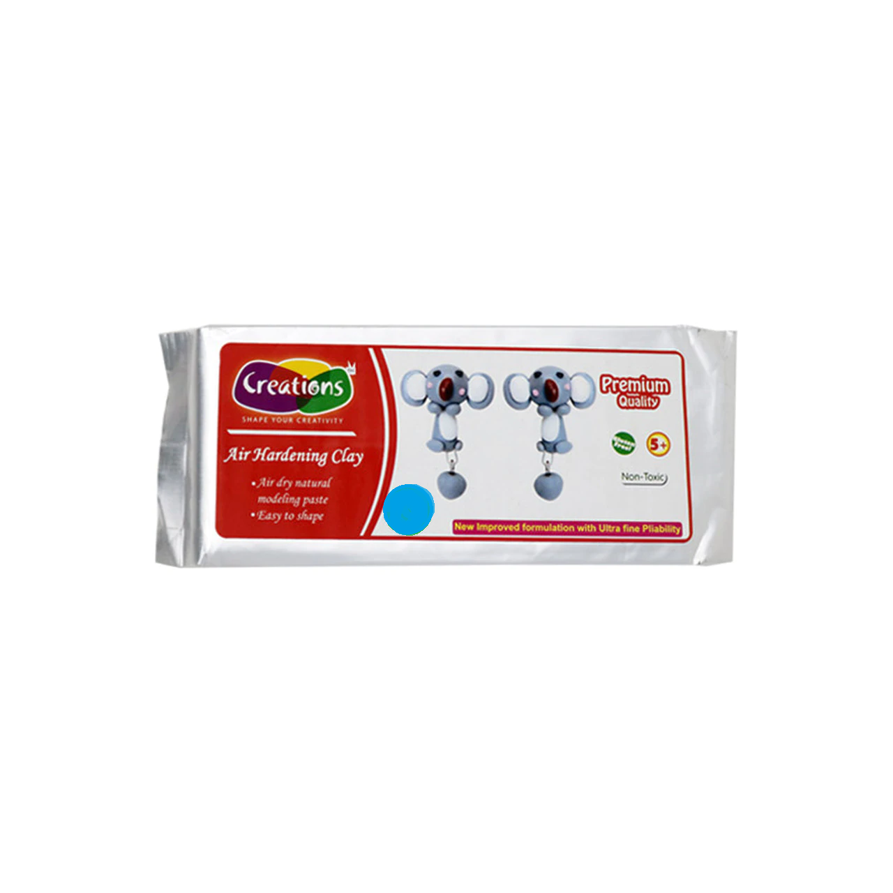 Creations Natural Clay - 500 gm - Blue