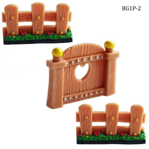 Miniature Garden Fence set (BG1P-2)