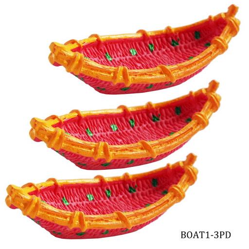Miniature Boat 3pcs (BOAT1-3PD)