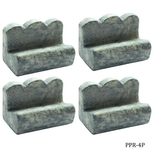 Miniature Park Bench 4pcs (PF-4P)