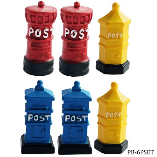 Miniature Post Box (PB-6PSET)