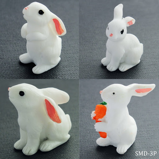 Miniature Rabbit 4pcs (RABBIT-4P)