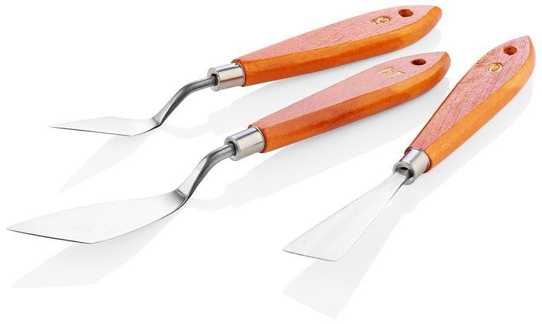 Palette Knives Set Of 3 - No's 0,5,14