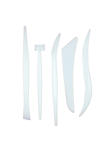 Plastic Clay Carving Tool Set - 5