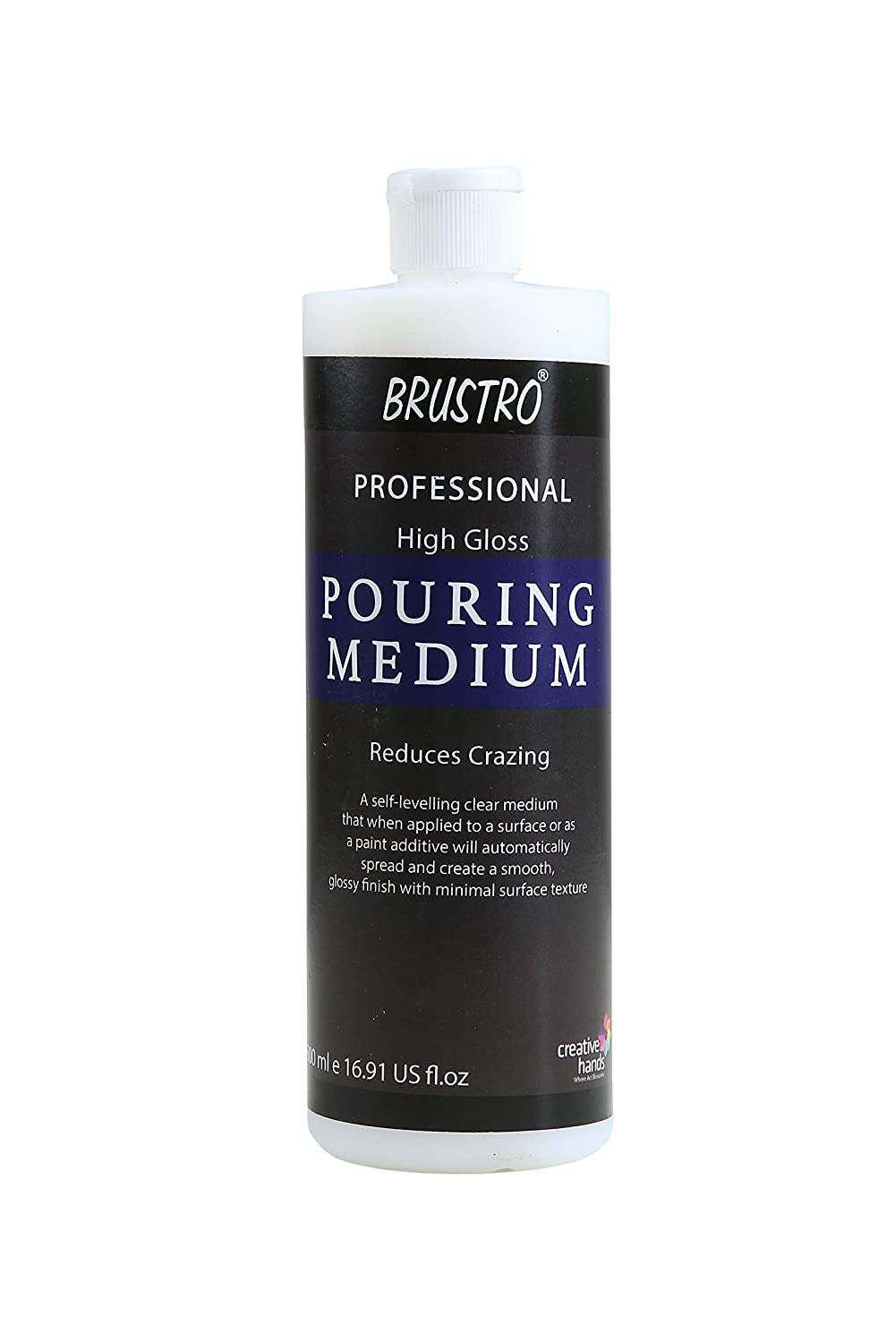 BRUSTRO Professional and HIGH Gloss Pouring Medium 500 Ml