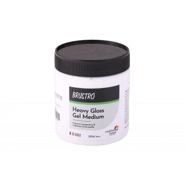 Brustro Professional Heavy Gloss Gel Medium 237ml