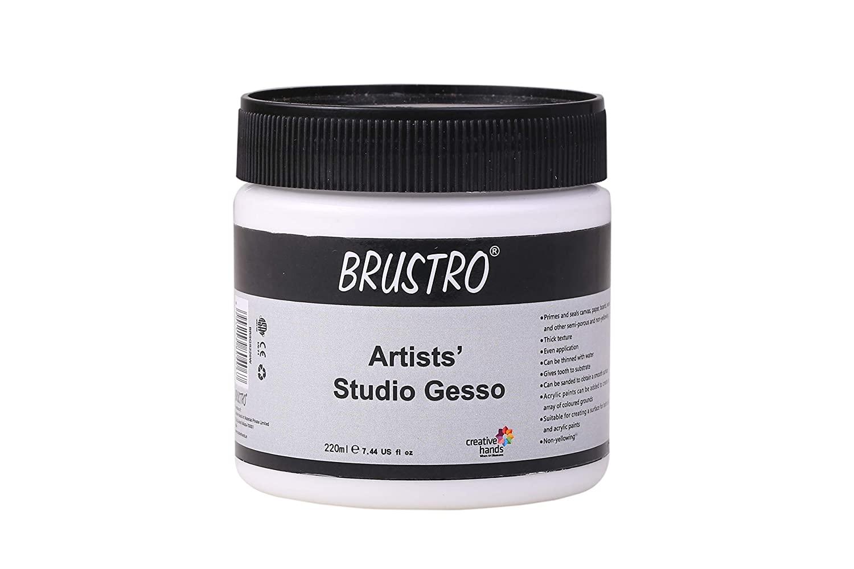 BRUSTRO Studio Gesso White 220ml