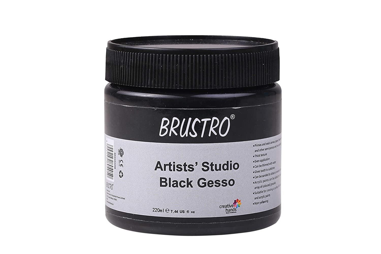 Brustro Studio Gesso Black 220ml