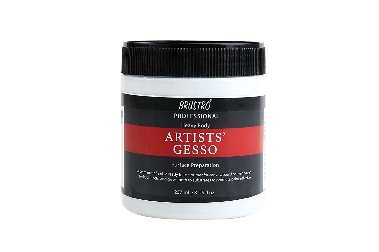Brustro Artists Gesso Professional Quality 237ml