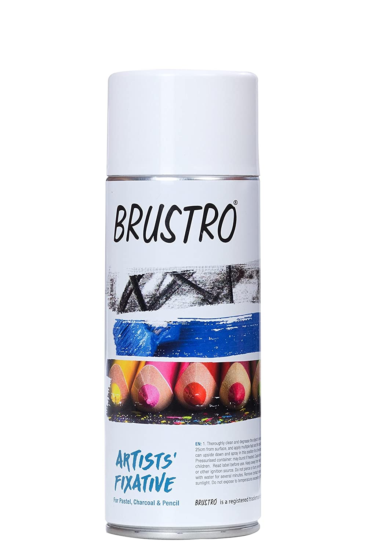 Brustro Artists Fixative 400 ml Spray Can