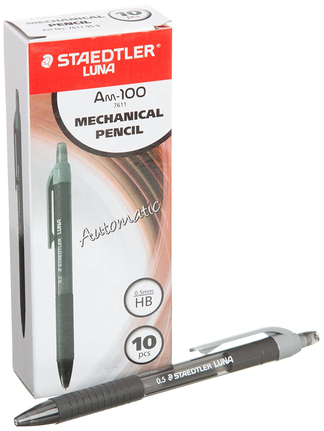 Staedtler Luna Am-100 Mechanical Pencil 0.5mm 76110 ( Color May Vary )