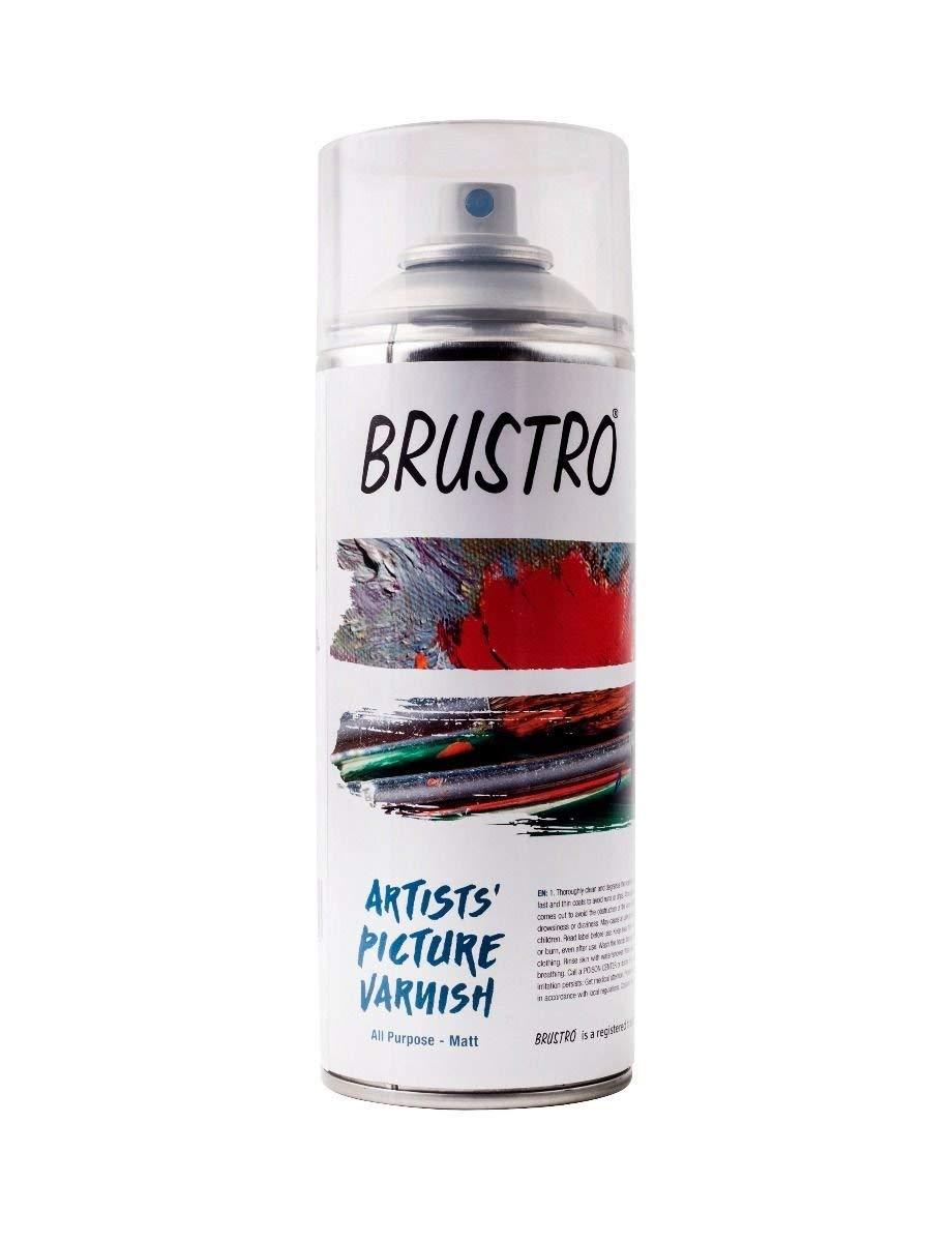 Brustro Artists Varnish - Matte - 400 ml spray can