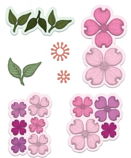 Heartfelt Creations Flowering Dogwood HCD17129