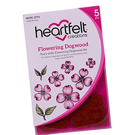 Flowering Dogwood Cling Stamp Set DCPC3773