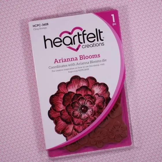 Arianna Blooms PreCut Stamp Set HCPC3608