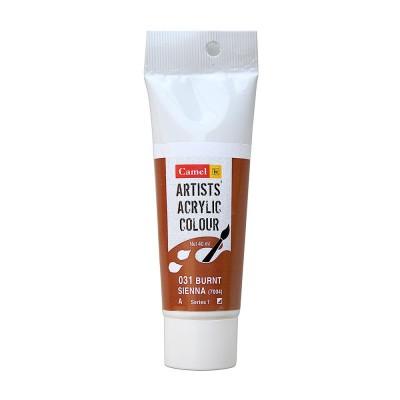 Camel Artist Acrylic Colour 40ml Burnt Sienna 031
